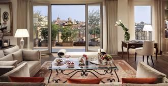 米兰巴黎宫Spa大酒店 - 米兰 - 客厅