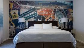 芝加哥戴斯酒店 - 芝加哥 - 睡房