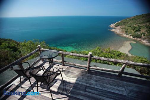 帕岸岛乌托邦度假酒店 - 帕岸岛 - 阳台