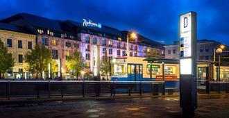 丽笙蓝光酒店-斯堪的纳维亚 - 哥德堡 - 建筑
