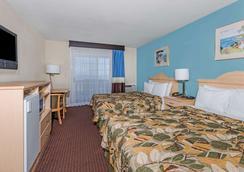 圣克鲁斯海滩浮桥豪生酒店 - 圣克鲁兹 - 睡房