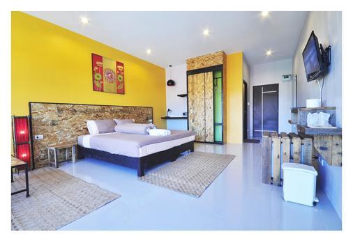 卧室住宿加早餐旅馆,奈汉海滩 - 拉威 - 睡房