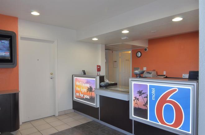 印第安人六号汽车旅馆 - 棕榈泉区 - 印地欧 - 柜台