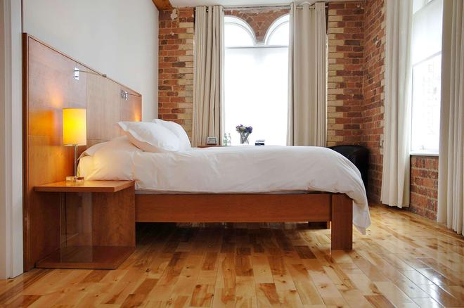 希望街设计酒店 - 利物浦 - 睡房
