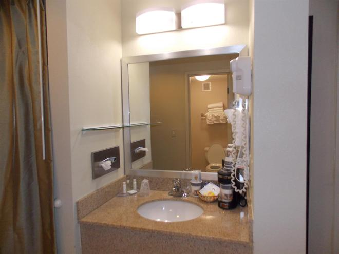斯普林菲尔德西贝斯特韦斯特酒店 - 西斯普林菲尔德 - 浴室