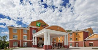 堪萨斯城体育中心智选假日套房酒店 - 堪萨斯城 - 建筑