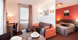 普特瑞斯爱达格公寓式酒店 - 普瓦捷 - 餐厅