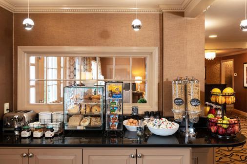 朴茨茅夫港旅馆和套房 - 登高精选酒店 - 朴茨茅斯 - 自助餐