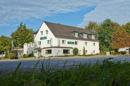 考克斯伽尼酒店 - 汉堡 - 建筑