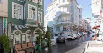伊斯坦布尔塔克西姆绿屋旅舍 - 伊斯坦布尔 - 户外景观
