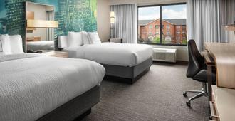 印第安纳波利斯首府万怡酒店 - 印第安纳波利斯 - 睡房