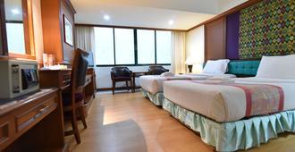 亚洲酒店 - 合艾 - 睡房