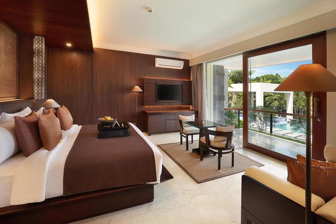乌布皇家卡美拉酒店 - 乌布 - 睡房