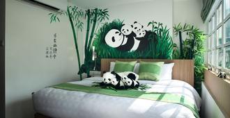 幸运草艺术酒店 - 新加坡 - 睡房