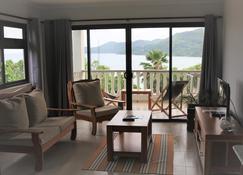 馬埃島的1臥室公寓 - 72平方公尺/1間專用衛浴 - 维多利亚 - 客厅