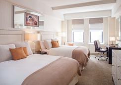 纽约本杰明酒店 - 纽约 - 睡房