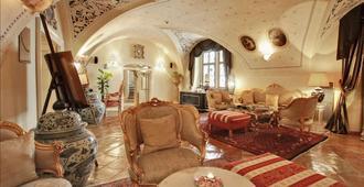 阿尔奇米斯特温泉大酒店 - 布拉格 - 睡房