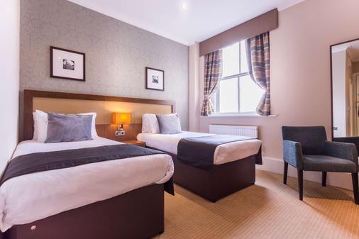 皇家驿站酒店 - 泰恩河畔纽卡斯尔 - 睡房
