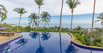 海景天堂海滩山峰假日别墅度假村 - 苏梅岛 - 游泳池