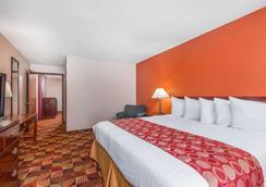 普莱恩菲尔德-印第安纳波利斯机场贝蒙特套房酒店 - 平原镇 - 睡房