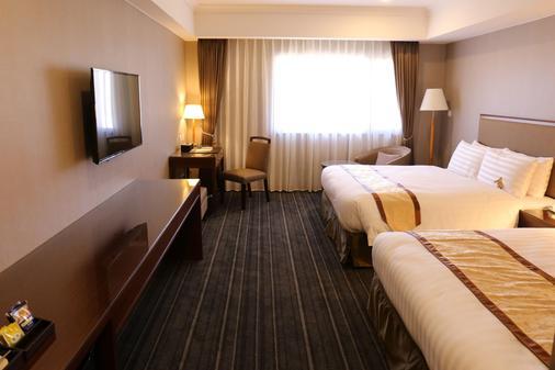 台南富信大饭店 - 台南 - 睡房