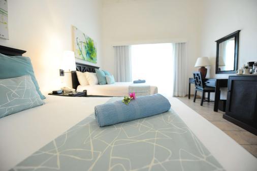 蓝杰塔酒店 - 普拉塔港 - 睡房