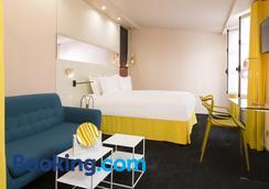 蒙索埃托伊尔酒店 - 巴黎 - 睡房