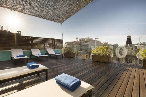欧尼斯兰布拉酒店 - 巴塞罗那 - 阳台