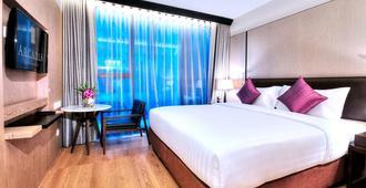 曼谷阿卡迪亚套房酒店 - 曼谷 - 睡房