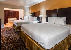 贝斯特韦斯特中央酒店 - 埃尔森特罗 - 睡房