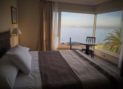 圣地亚哥德阿尔马格罗瓦尔帕莱索酒店 - 瓦尔帕莱索 - 睡房