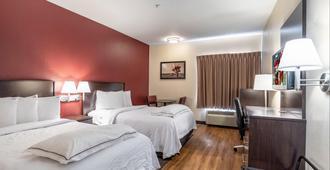 圣安东尼奥市中心河岸步道红屋顶普拉斯酒店 - 圣安东尼奥 - 睡房