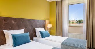 布达佩斯莱昂纳多酒店 - 布达佩斯 - 睡房