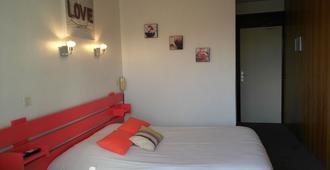 科里布里酒店 - 艾克斯莱班 - 睡房