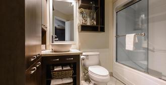 都滨海客栈- 酒店&Spa中心 - 魁北克市 - 浴室