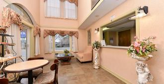 南卡罗莱纳安德森美洲最佳价值酒店 - 安德森(南卡罗来纳州) - 柜台