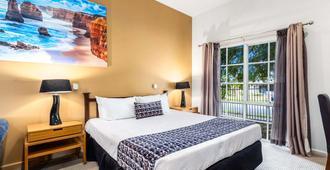 格林斯镇舒适酒店 - 墨尔本 - 睡房