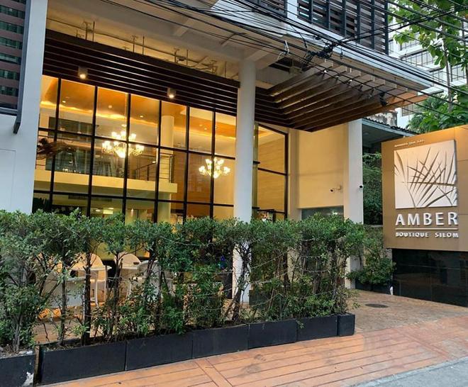 安布尔西隆精品酒店 - 曼谷 - 建筑