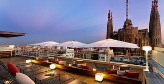 罗塞利翁艾尔酒店 - 巴塞罗那 - 阳台