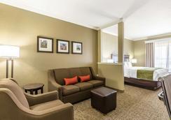 休斯顿iah机场康福特套房酒店 - 环城公路8 - 休斯顿 - 睡房