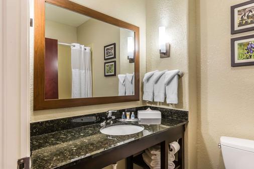 休斯顿iah机场康福特套房酒店 - 环城公路8 - 休斯顿 - 浴室