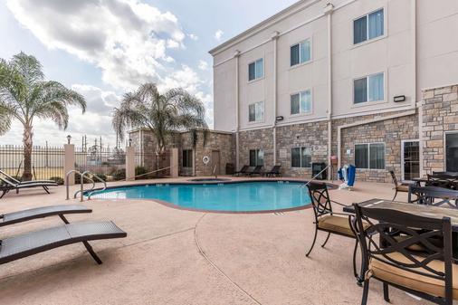 休斯顿iah机场康福特套房酒店 - 环城公路8 - 休斯顿 - 游泳池