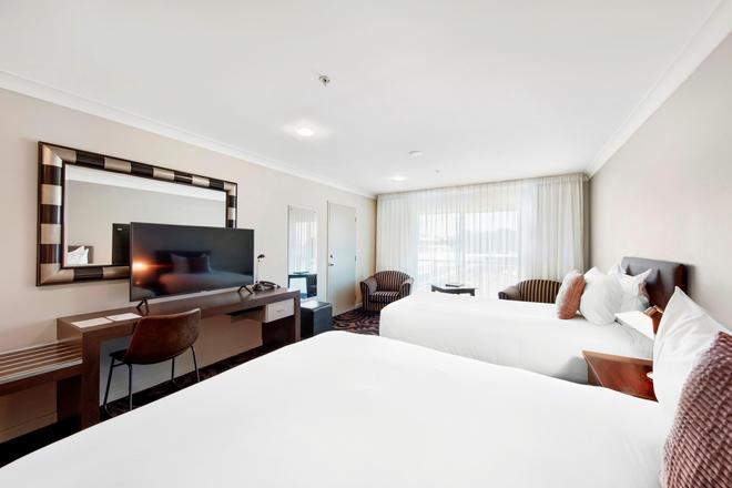 沃特福兰特酒店 - 新普利茅斯 - 睡房