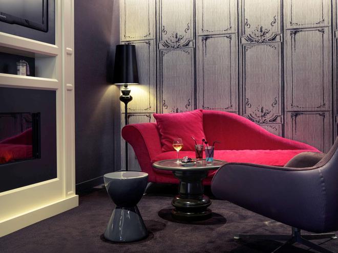 图卢兹中心威尔逊卡皮托勒美居酒店 - 图卢兹 - 客厅