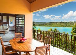 泻湖上的罂粟酒店 - 维拉港 - 阳台