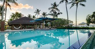 朵斯可拉莱斯别墅旅馆 - 莫鲁-迪圣保罗 - 游泳池