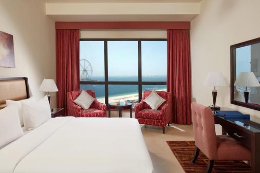 朱美拉海滩安瓦吉套房酒店 - 迪拜 - 睡房