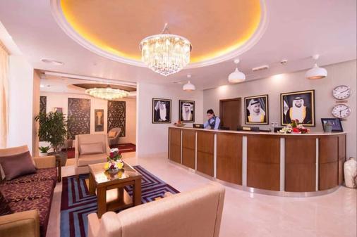 朱美拉海滩安瓦吉套房酒店 - 迪拜 - 柜台
