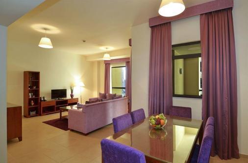 朱美拉海滩安瓦吉套房酒店 - 迪拜 - 餐厅