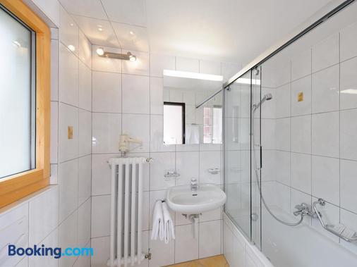 阿尔夫贝尔酒店 - 采尔马特 - 浴室